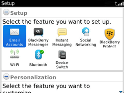 BlackBerry 9360 Curve - E-mail - Manual configuration - Step 4
