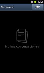 Samsung I8160 Galaxy Ace II - Mensajería - Configurar el equipo para mensajes de texto - Paso 3