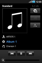 Samsung Galaxy Ace - Photos, vidéos, musique - Ecouter de la musique - Étape 6
