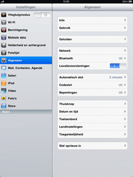 Apple iPad - Bluetooth - koppelen met ander apparaat - Stap 5