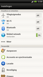 HTC S728e One X Plus - Internet - Uitzetten - Stap 4