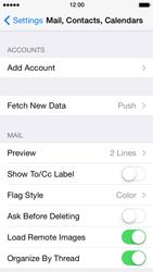 Apple iPhone 5 iOS 7 - E-mail - Manual configuration (outlook) - Step 4