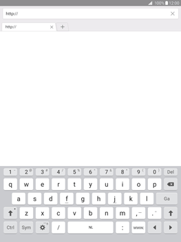 Samsung Galaxy Tab A 9.7 (SM-T555) - Internet - Hoe te internetten - Stap 4