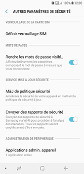 Samsung Galaxy A6 - Sécurité - modifier SIM PIN - Étape 6