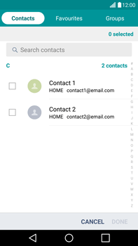 LG H815 G4 - Email - Sending an email message - Step 6