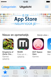 Apple iPhone 4S met iOS 7 (Model A1387) - Applicaties - Downloaden - Stap 4