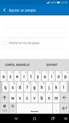 HTC Desire 626 - E-mail - Configuration manuelle - Étape 7