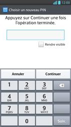 LG Optimus F6 - Sécuriser votre mobile - Activer le code de verrouillage - Étape 7