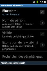 Samsung S7500 Galaxy Ace Plus - Bluetooth - connexion Bluetooth - Étape 8