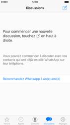Apple iPhone 6 iOS 9 - WhatsApp - Envoyer des SMS avec WhatsApp - Étape 5