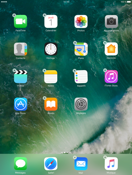 Apple iPad Pro 9.7 - iOS 10 - iOS features - Supprimer et restaurer les applications iOS par défaut - Étape 3