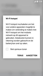 LG G5 SE - Android Nougat (LG-H840) - WiFi - Mobiele hotspot instellen - Stap 9