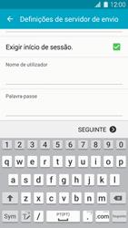 Samsung Galaxy S5 - Email - Configurar a conta de Email -  14