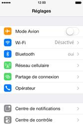 Apple iPhone 4S - Internet et connexion - Utiliser le mode modem par USB - Étape 4