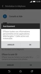 HTC Desire 610 - Aller plus loin - Restaurer les paramètres d'usines - Étape 7