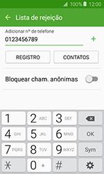 Samsung Galaxy J1 - Chamadas - Como bloquear chamadas de um número específico - Etapa 10