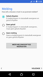 Sony Xperia XZ Premium - E-mail - e-mail instellen: IMAP (aanbevolen) - Stap 21