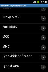 Samsung S7500 Galaxy Ace Plus - MMS - configuration manuelle - Étape 14