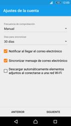 Sony Xperia M5 (E5603) - E-mail - Configurar Yahoo! - Paso 11