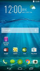 Acer Liquid Jade Z - SMS - Configuration manuelle - Étape 1