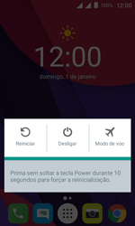 Alcatel Pixi 4 - Funções básicas - Como reiniciar o aparelho - Etapa 3