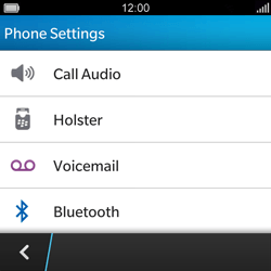 BlackBerry Q5 - Voicemail - Manual configuration - Step 5