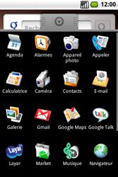 Samsung I7500 Galaxy - E-mail - envoyer un e-mail - Étape 2