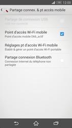 Sony Xpéria Z3 - Internet et connexion - Partager votre connexion en Wi-Fi - Étape 14