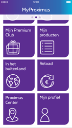 Apple iPhone 6 Plus iOS 8 - Applicaties - MyProximus - Stap 17