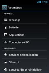 Bouygues Telecom Bs 351 - Aller plus loin - Restaurer les paramètres d'usines - Étape 4