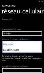 Nokia Lumia 520 - Internet - Désactiver du roaming de données - Étape 6