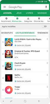 Samsung Galaxy Note 9 - Applications - Télécharger une application - Étape 7