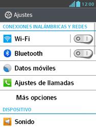 LG Optimus L3 II - Mensajería - Configurar el equipo para mensajes multimedia - Paso 4