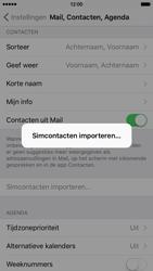 Apple iPhone 6 met iOS 9 (Model A1586) - Contacten en data - Contacten kopiëren van SIM naar toestel - Stap 5