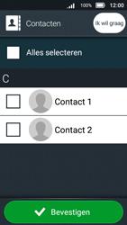 Doro 8031 (Model DSB-0010) - Contacten en data - Contacten kopiëren van toestel naar SIM - Stap 8