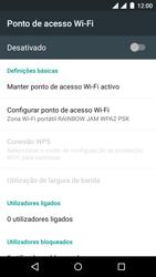 Wiko Rainbow Jam DS - Internet no telemóvel - Como partilhar os dados móveis -  7