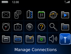 BlackBerry 9700 Bold - Network - Usage across the border - Step 3