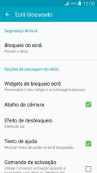 Samsung Galaxy S4 LTE - Segurança - Como ativar o código de bloqueio do ecrã -  6