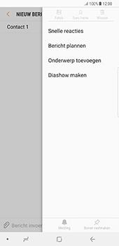 Samsung Galaxy Note 8 - MMS - hoe te versturen - Stap 8