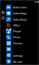 Nokia Lumia 710 - Email - Sending an email message - Step 3