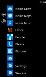 Nokia Lumia 710 - E-mail - Sending emails - Step 3