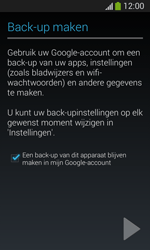 Samsung Galaxy S3 Mini VE (I8200N) - Applicaties - Account aanmaken - Stap 23
