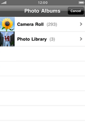 Apple iPhone 4 S - MMS - Sending a picture message - Step 8