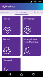 Sony Xperia M5 - Applications - MyProximus - Étape 19
