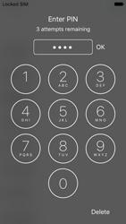 Apple iPhone 5s iOS 10 - Primeiros passos - Como ligar o telemóvel pela primeira vez -  6