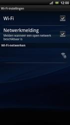 Sony Ericsson Xperia Neo V - Wifi - handmatig instellen - Stap 7