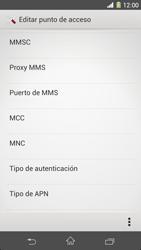 Sony Xperia Z1 - Mensajería - Configurar el equipo para mensajes multimedia - Paso 11