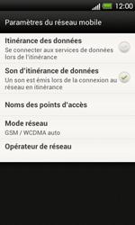HTC T320e One V - Réseau - Utilisation à l
