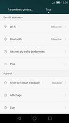 Huawei Ascend G7 - Réseau - Utilisation à l