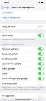 Apple iPhone XS Max - Beveiliging - stel in of wijzig pincode voor je toestel - Stap 8